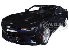 2016 CHEVROLET CAMARO SS BLUE VELVET METALLIC LTD 1002PC 1/18 BY AUTOWORLD AW239