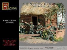 Pegasus Hobbies 1/72 WWII German Waffen SS Set #1 Kursk LAH 1943 (46 Figures)