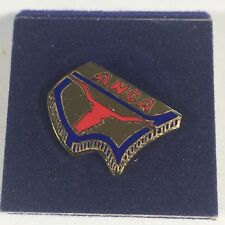 "Approximately .5"" Vintage Metal Longhorn Anca Lapel or Tie Pin"