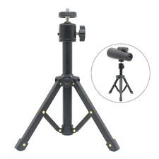 Foldable Table Tripod Telescope Metal Tripod with 1/4 inch Mounting Thread
