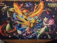 Pokemon Hidden Fates Shiny CHARIZARD Playmat - TCG Rubber Card Mat