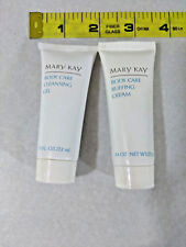 MARY KAY - Body Buffing Cream & Cleansing Gel - Travel Sizes