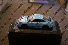 Minichamps Porsche 911 R 991 Blue 1:43 410066225