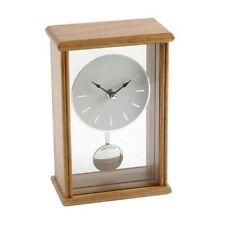 Glass Desk, Mantel & Carriage Clocks with Pendulum
