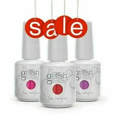 Gelish Harmony Original Base Gel Empapa-apagado patente pendiente de esmalte de uñas de color 15ML