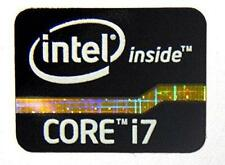 INTEL CORE i7 Sticker Black Edition LOGO Aufkleber Intel inside CORE i7 Schwarz