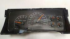 1998 1999 GM Tahoe Suburban Gauge Cluster Speedometer POLICE 130mph 16265075