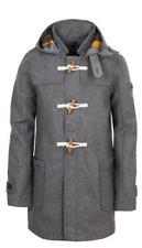 Genuine Superdry British Design Men Classic Wool Duffle Coat Jacket Limited