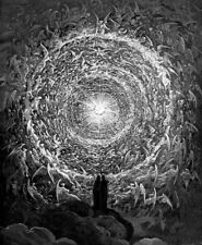 Vision of the Empyrean : Gustave Dore : Art Print Suitable for Framing