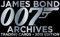 James Bond Archives 2015 ~ QUANTUM OF SOLACE 90-Card Base Set