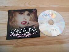 CD Pop Kamaliya - Never Wanna Hurt You (4 Song) Promo EMBASSY TANARM