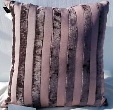"Hallmart Collectibles Purple Stripe Jacquard 18""- Purple"
