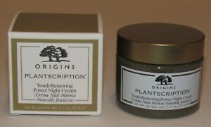 Origins Plantscription Youth Renewing Power Night Cream 1.7 Oz NIB Full Size