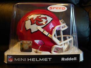 NFL Riddell Kansas City Chiefs Mini Speed Helmet