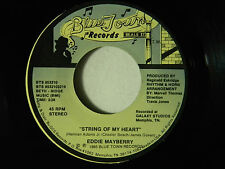 Eddie Mayberry 45 STRING OF MY HEART / WHEN YOU COME BACK FOR LOVE ~ VG++