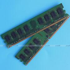 Samsung 4GB 2x2GB PC2-4200 DDR2 533Mhz 533 240pin Desktop Memory Low Density RAM