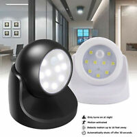 360° LED Lampada Faretto Parete Con Sensore Di Movimento Luce Emergenza Notte