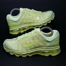 separation shoes fb612 f1391 NIKE Air Max+ 2009 (Men s Size 8) Athletic Running Sneaker Shoes Pale Volt