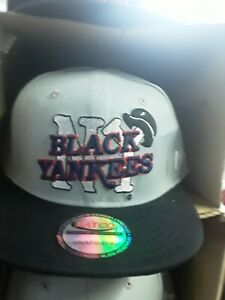 Negro league New York black Yankees snapback