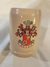 Beck's McCoy Pottery Stoneware Beer Tankard Stein #6395