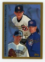 1998 Topps ROY HALLADAY Brian Fuentes Clement ROOKIE CARD #264 Toronto Blue Jays