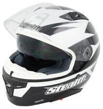 STEALTH GP REPLICA FULL CARBON FIBRE FULL FACE MOTORCYCLE TRACK ROAD HELMET