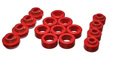 Energy Suspension Body Cab Mount Set Red for 71-03 Sonoma # 3.4131R