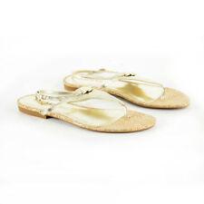 Markenlose Sandalen mit Absatz kleiner als 3 cm für Damen