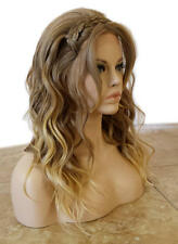 Forever Young European Boho LACE FRONT Heat Safe Wig (Madeleine Blonde) Braided