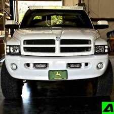 """52"""" Curved LED Light Bar Roof Mount Dodge Ram 1994-2002 2500 Mounts Only"""