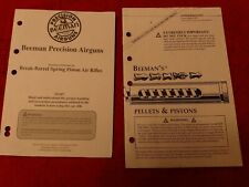 Factory Original Beeman GS-950 BB Rifle Instruction Owners Manual w/paperwork