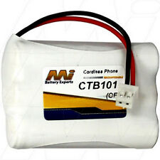 CTB101 3.6V NiCd Cordless Phone Battery