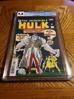 Incredible Hulk 1 CGC 9.8 NM Facsimile Edition Reprint Marvel Comics