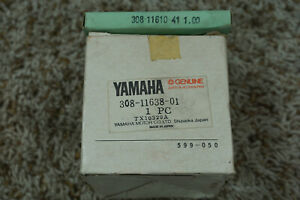 NOS Yamaha 1.00 Oversize Piston and Rings Set, 1972-1973 RT2 RT3
