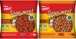 my choice textured ceylon vegetarian defatted regular soya 90g free shipping