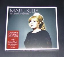 MAITE KELLY DIE LIEBE SIEGT SOWIESO CD LIMITIERTE DELUXE DIGIPAK EDITION NEU OVP