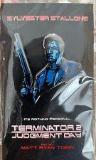 More details for sylvester stallone last action hero pin matt ryan tobin terminator 2 movie art