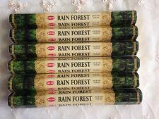 Aussie Stock RAIN FOREST HEM Incense 6 Packs of 20 Sticks Fresh Total 120 Sticks