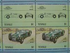 1950 ALLARD J2 Sports Car 50-Stamp Sheet / Auto 100 Leaders of the World