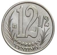 Venezuela - Münze - 12 1/2 Centimos Centimes 2007 - Stempelglanz UNC