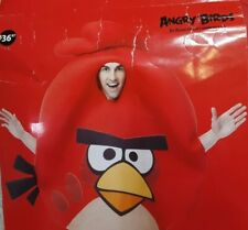 Angry Birds Red Bird Adult Costume One Size by Rovio Easy 3Pc. Unisex