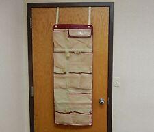 Over the Door Organizer ~ 11 Pockets, For Closet, Pantry, Dorm Room, Apartment