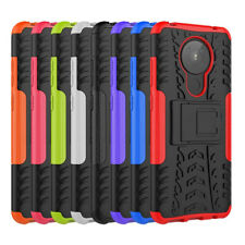 For Nokia 5.3 Shockproof Anti Knock Heavy Duty Rugged Kickstand Case Cover