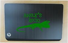Anole pet decal in 8 colors