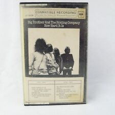 Big Brother And The Holding Company Cassette How Hard It Is CT 30738 Very Rare