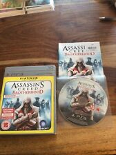PS3 Platinum Assassin's Creed Brotherhood Special Edition
