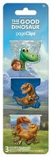 THE GOOD DINOSAUR - MAGNETIC PAGE CLIPS - BRAND NEW - BOOK READING BOOKMARK 4615