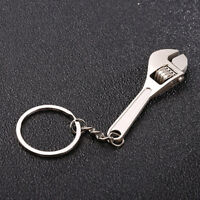 Metal Double Ends Creative Tool Wrench Spanner Key Chain Ring Keyring Gift BB