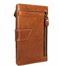 Genuine Leather Case for Galaxy s8 / s8 Plus Vintage Design Cards Slots Davis