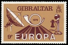 GIBRALTAR 383 (SG421) - European Telecommunications System (pa79354)
